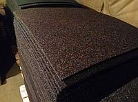 Резиновый коврик 1200х2400х15 тёмно-коричневый