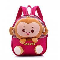 Детские рюкзаки с игрушкой для девочек