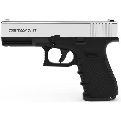 Стартовый пистолет Retay G17 Nickel, фото 2