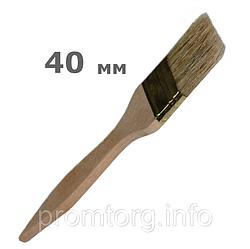 """Кисточка для малярных работ """"плоская"""" 40мм"""