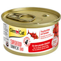 Gimpet Superfood ShinyCat с тунцом и помидорами 70 гр.