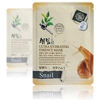 Ультраувлажняющая улиточная тканевая маска Shelim Ultra Hydrating Essence Mask Snail
