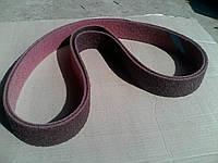 Шлифовальная лента скотчбрайт для Гриндера 50х1200, нетканный абразивный материал medium