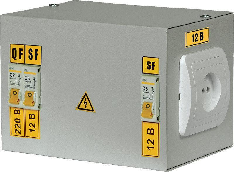 Ящик с понижающим трансформатором ЯТП-0,25 380/42-3 36 УХЛ4 IP30