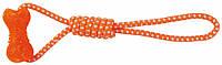 Гантель Trixie Dumbbell on a Rope для собак на канате, 10х42 см