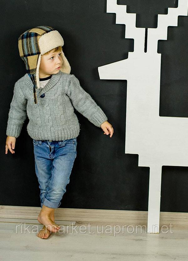 Зимняя шапка для мальчика арт шерлок