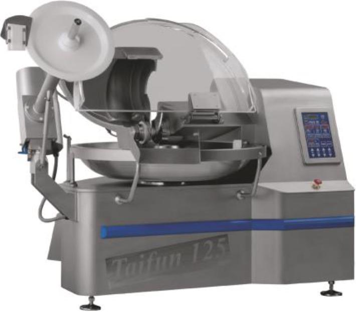 Куттер Kn-125 Sm Тайфун для пищевых производств