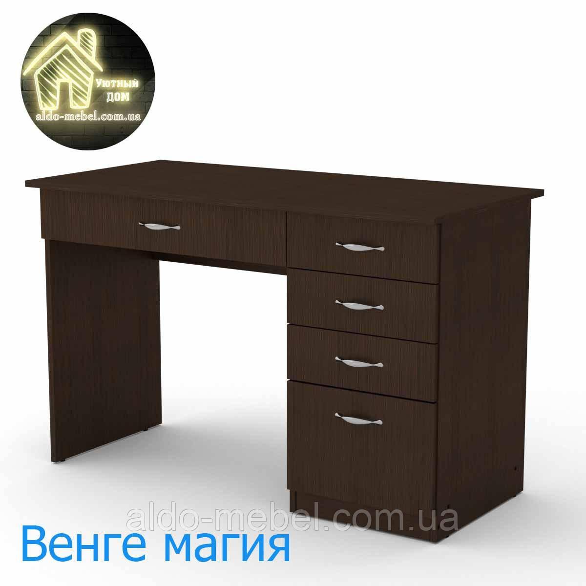 Стол письменный Студент Габариты Ш - 1155 мм; В - 736 мм; Г - 550 мм (Компанит)