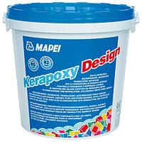 Эпоксидная затирка Мапей Керапокси Дизайн двухкомпонентная для швов плитки ведро по 3 кг