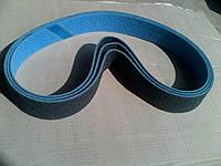 Шлифовальная лента скотчбрайт для Гриндера 50х1200, нетканный абразивный материал very fine