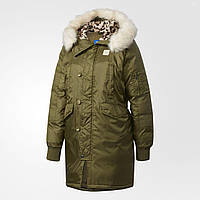 1a5256aceebc Женская куртка Adidas Originals Long Bomber (Артикул  AY4774), цена ...