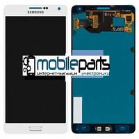 Оригинальный Дисплей (Модуль) + Сенсор (Тачскрин) для Samsung SM-A700H Galaxy A7 service (Белый)