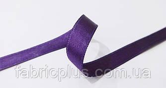 Лента  атласная  1 см/2 ст.  фиолет.