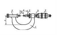 Микрометр со вставками плоскими МВП 25 СССР
