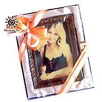 Подарок женщине на 14 февраля. Шоколад с Вашей фотографией, фото 1