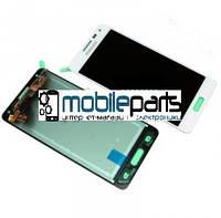 Оригинальный Дисплей (Модуль) + Сенсор (Тачскрин) для Samsung SM-G850F Galaxy Alpha service (Белый)