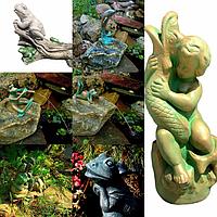 НОВИНКА!!!Декоративные фонтаны в виде садовых фигур производства фирмы AQUANOVA.