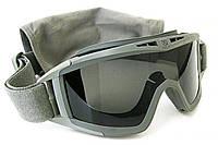 Тактическая маска-очки Revision Desert Locust OLIVE