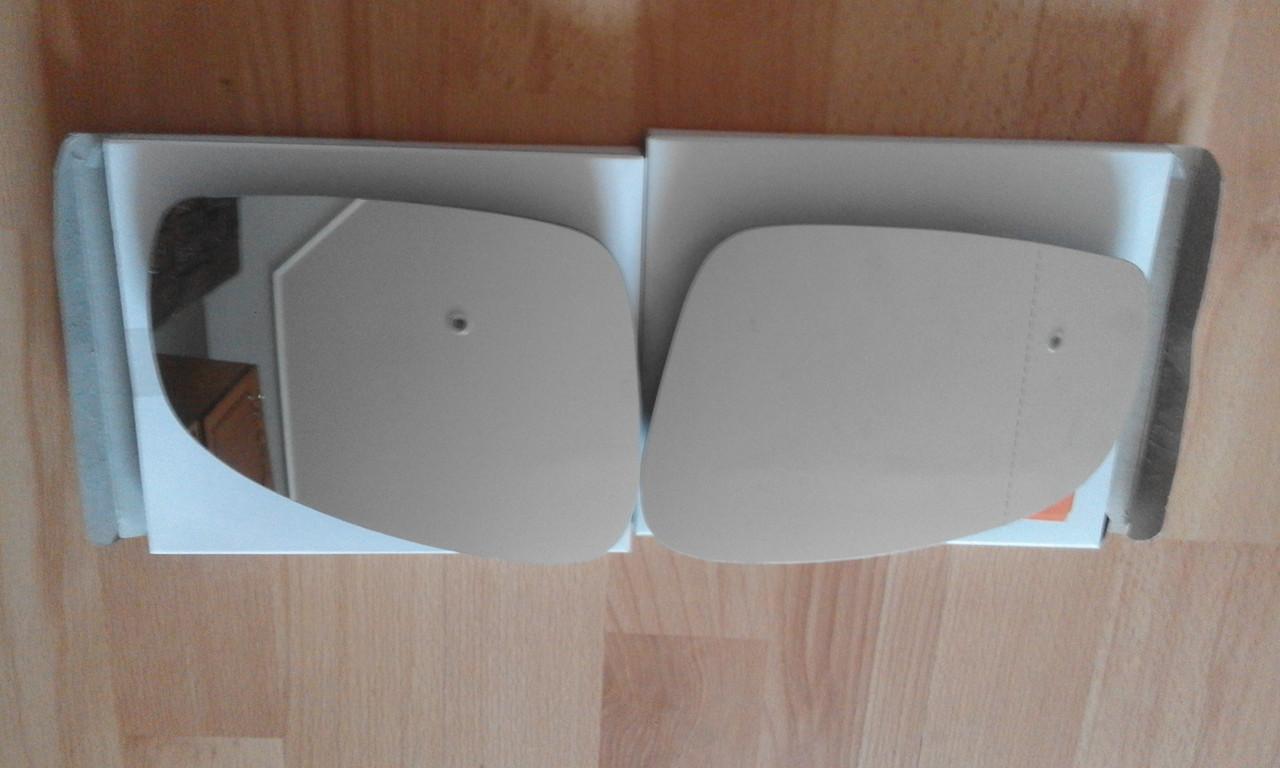 Вкладыш зеркала бокового Skoda Fabia левое и правое  Roomster