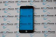 Стекло корпуса для мобильного телефона Apple iPhone 6S Plus  с рамкой черное