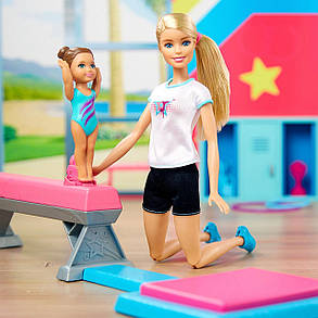 Кукла Барби Гимнастка и её ученица Barbie and Toddler Student Flippin Fun Gymnastics, фото 2