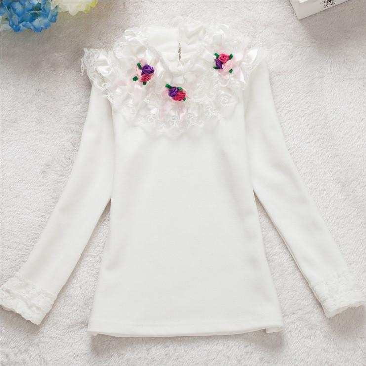 Школьная кофта белая для девочки