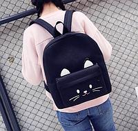 Рюкзак женский Котик с Ушками городской молодежный , фото 1