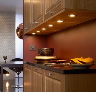 Особенности мебельных светильников для кухни. На заметку хозяйкам