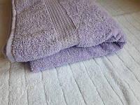Полотенце махровое Азербайджан 70х140 сирень светлая