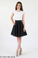 Жіноче коктейльне чорне плаття Alina