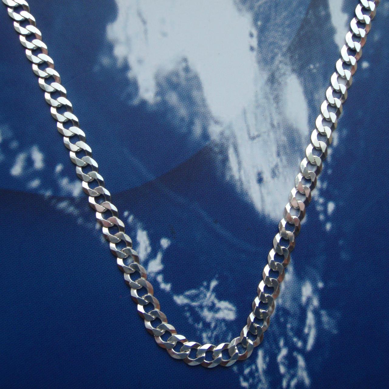 Серебряная цепочка, 500мм, 8 грамм, плетение Панцирь