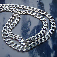 Серебряная цепочка, 400мм, 6 грамм, плетение Панцирь