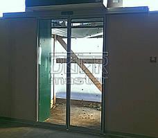 Автоматические двери Tormax 2101, Аэропорт (г. Запорожье) 26.12.2016 2