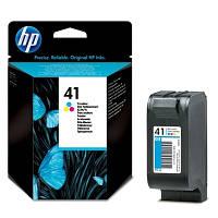 Струйный Картридж HP №41, Трехцветный (51641AE)