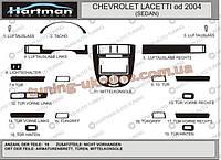 Декор в салон Hartman на Chevrolet Lacetti 2004-2013 седан