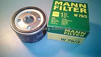 Масляный фильтр Renault Logan (MANN W75/3)