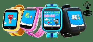 Детские часы с GPS Q100s