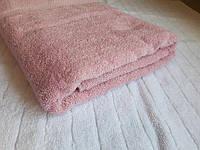 Полотенце махровое Азербайджан 70х140 средне-розовое