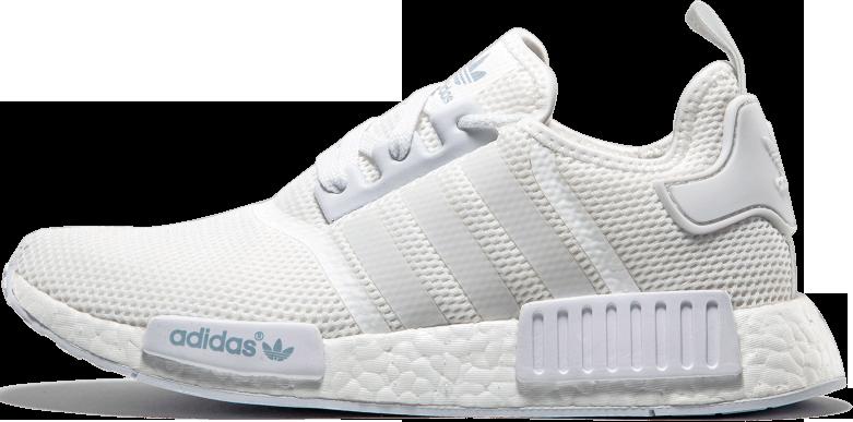 Женские кроссовки Adidas NMD R1 Reflective White 3M