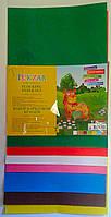 Цветная бумага в наборе Бархатная А4 №10103 7 листов 14257Ф+ Tukzar Турция