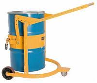 Тележка опрокидыватель для бочки с мёдом до 350 кг усиленная