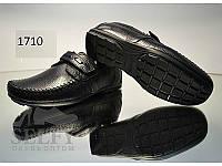 Туфли рр 33-39 кожа Alexandro черные
