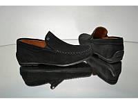 Туфли рр 35-39 замш Alexandro черные