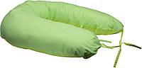 Подушка для беременных и кормления с наволочкой Руно, салатовый