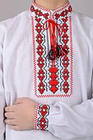 032017 - Детская вышиванка для мальчика Козачок (длинный рукав)