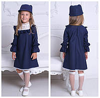 Школьное платье с кокеткой 912 ЕВ, фото 1