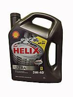 Shell Helix Ultra 5w40, 4л