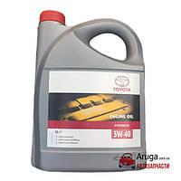 Синтетическое моторное масло Toyota Synthetic 5W-40 5л