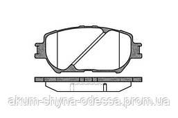 Колодки тормозные дисковые REMSA RS 0884.00 передние
