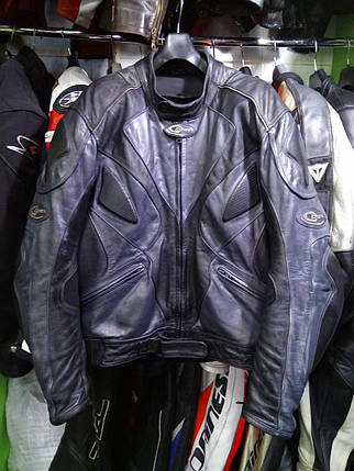 Мотокуртка бу кожа DMP, фото 2